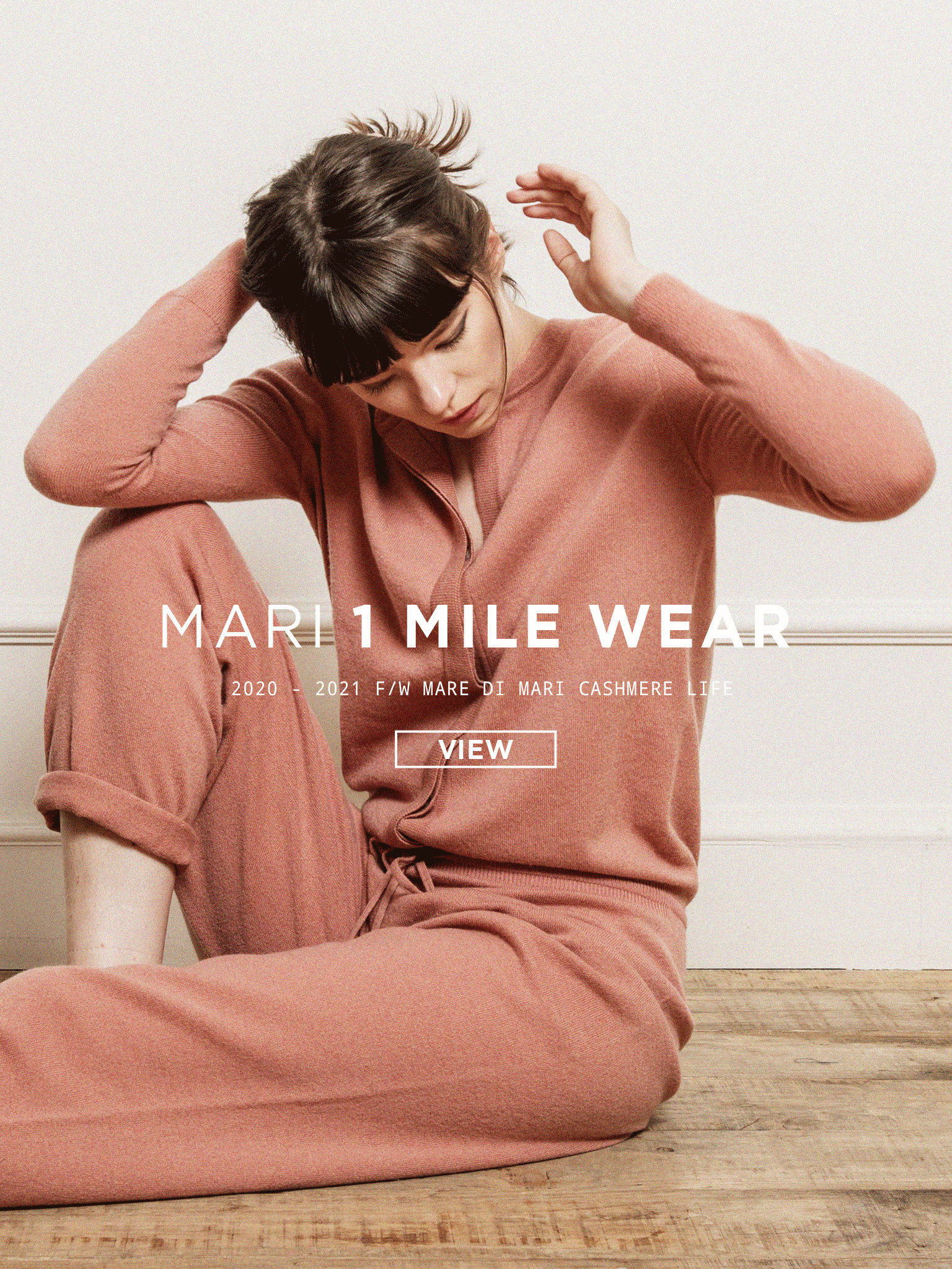2020 – 21 F/W  'Things we can do'  MARI 1 Mile Wear