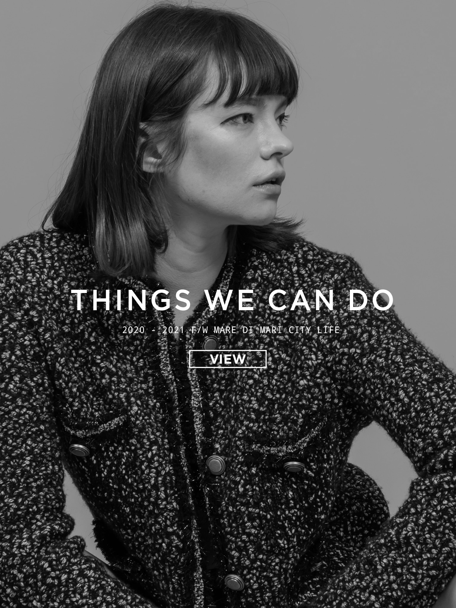 2020 – 21 F/W  Mare di Mari  'Things we can do' PART.1